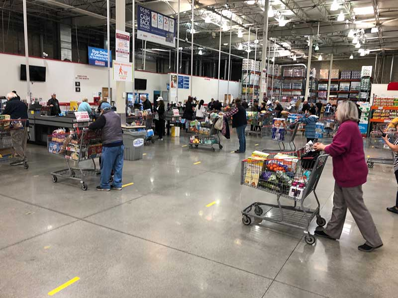 Costco interior near Sun Valley by Jose Mier