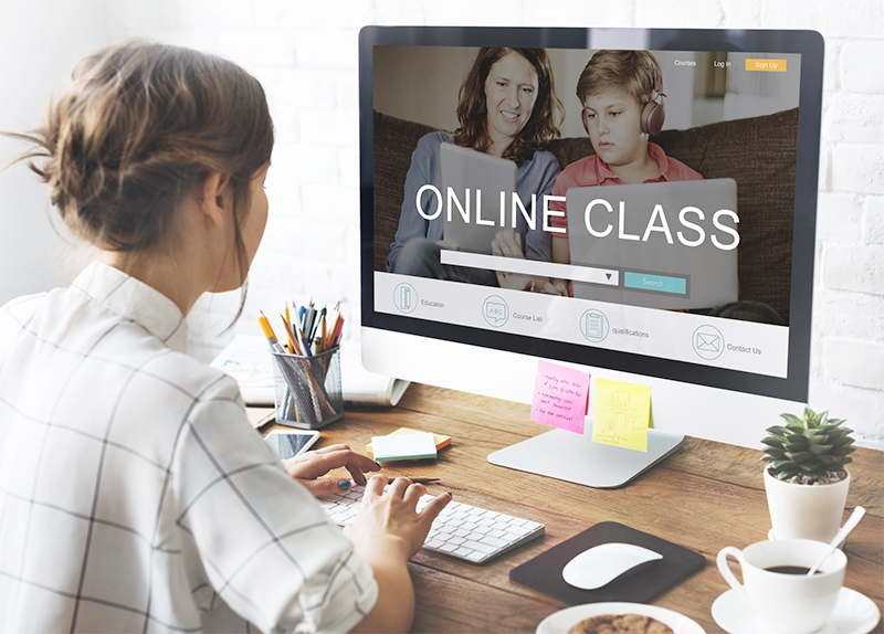 Sun Valley classes have gone online