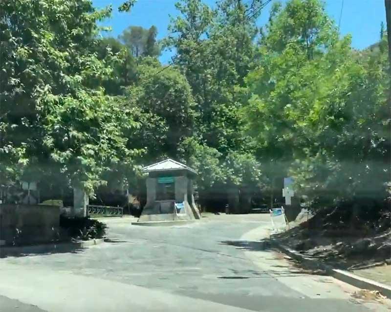 Jose Mier shot of Wildwood Canyon entrance