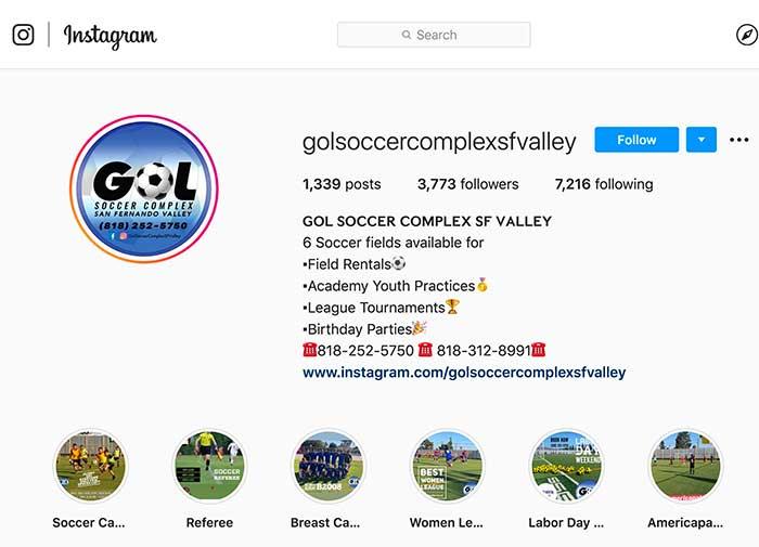 Gol Soccer Complex Sun Valley CA
