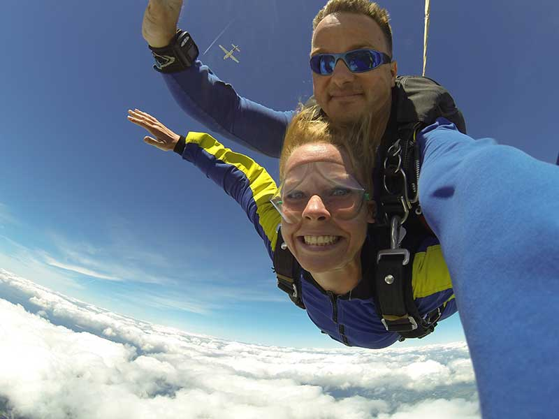 Jose Mier skydiving Sun Valley, CA