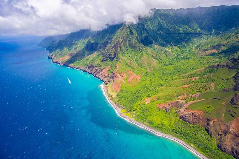 Hawaii aerial image Jose Mier Sun Valley