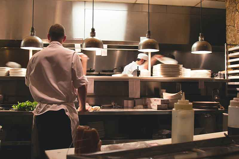 Cooking school interior Sun Valley Jose Mier
