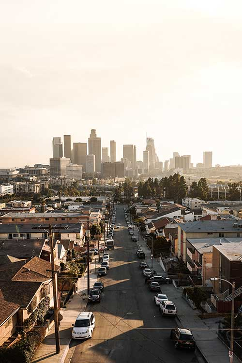 Downtown Los Angeles Jose Mier
